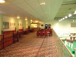 Tilbury Community Centre Indoor Bowls upper Viewing Area