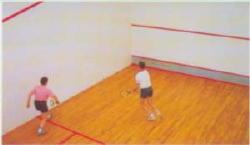 Tilbury Community Association Squash Courts